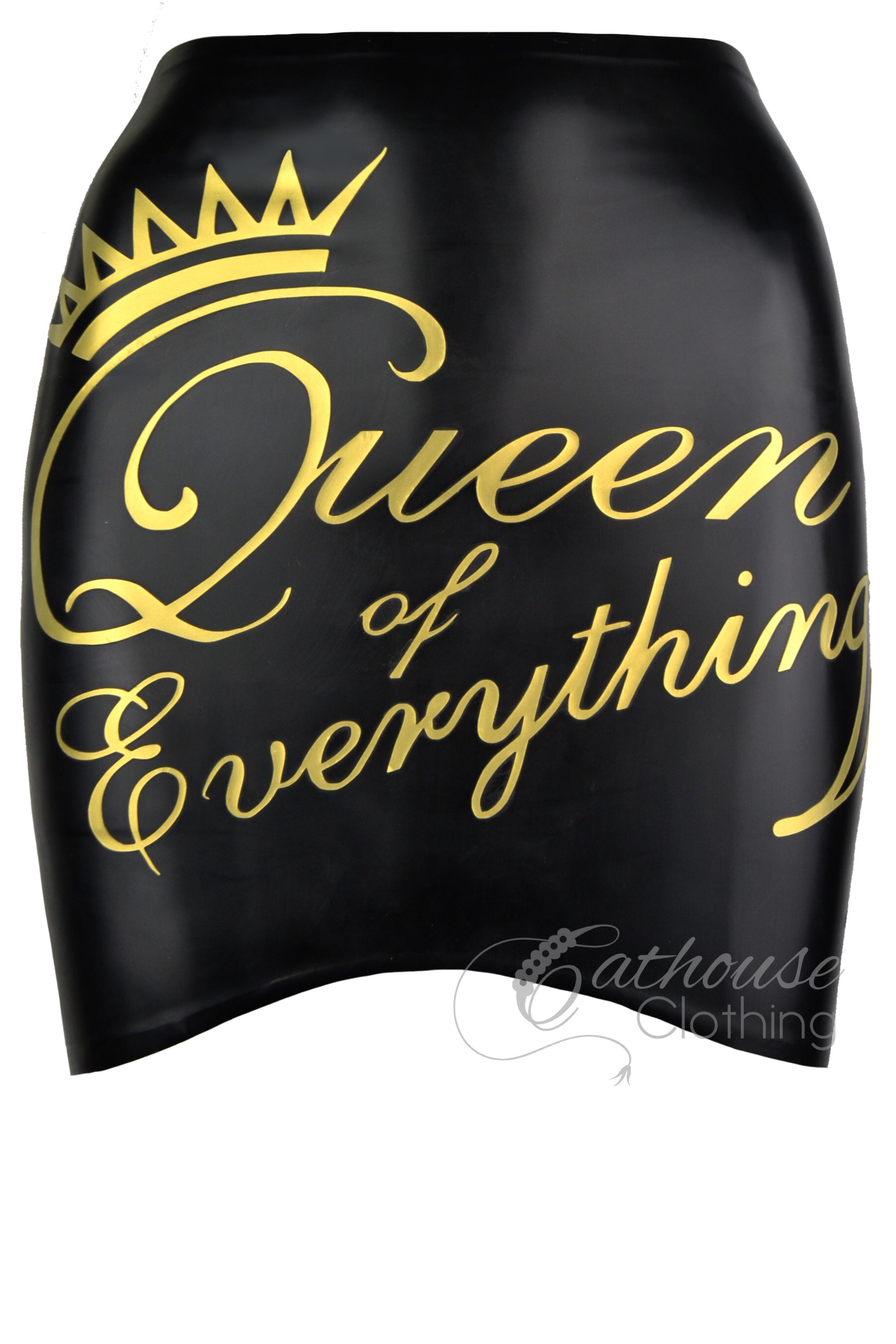 'Queen of Everything' mini skirt