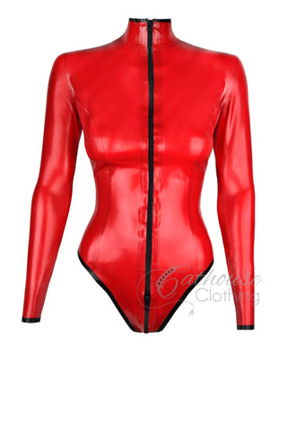 Latex Mistress playsuit