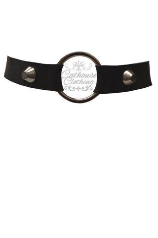 Latex ring choker