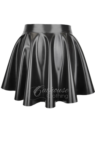 Latex skating skirt