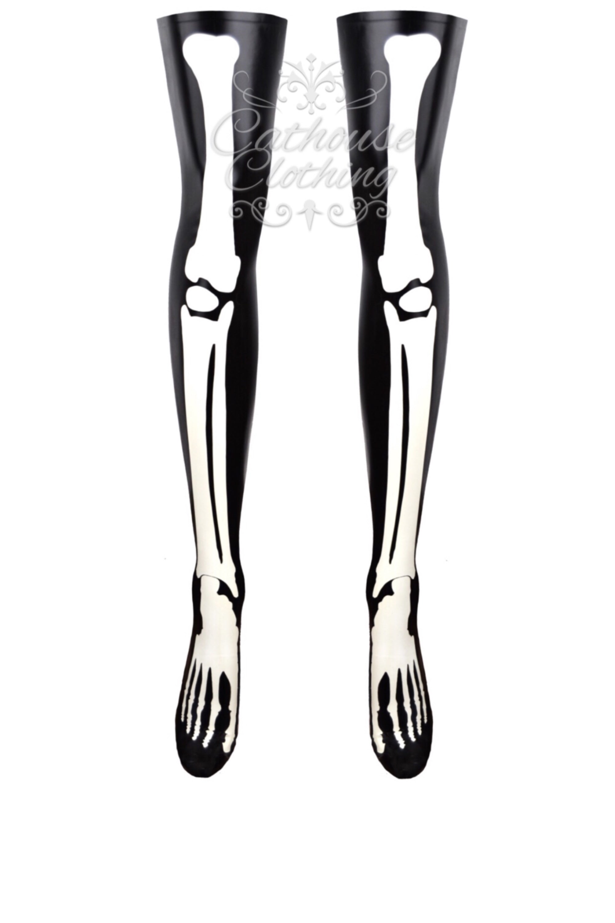 Skeleton bone stockings