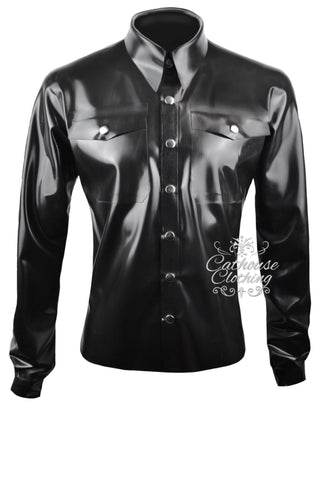 Men's latex Classic shirt