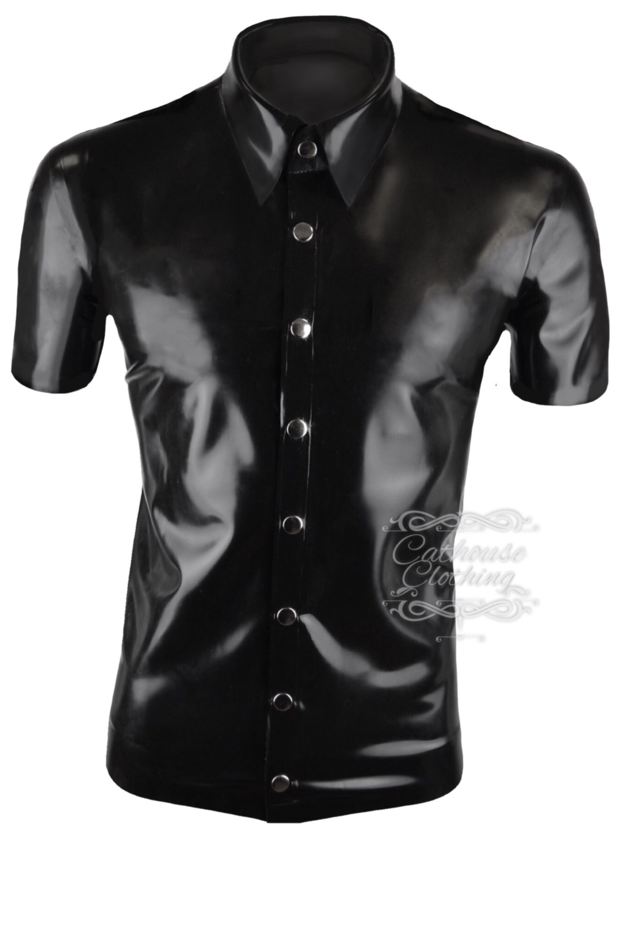 Men's latex shirt