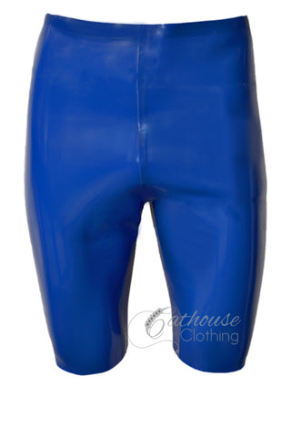 Men's latex cycling shorts