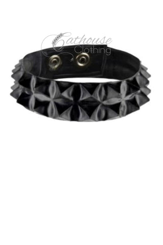 Cleopatra 2-row spike collar