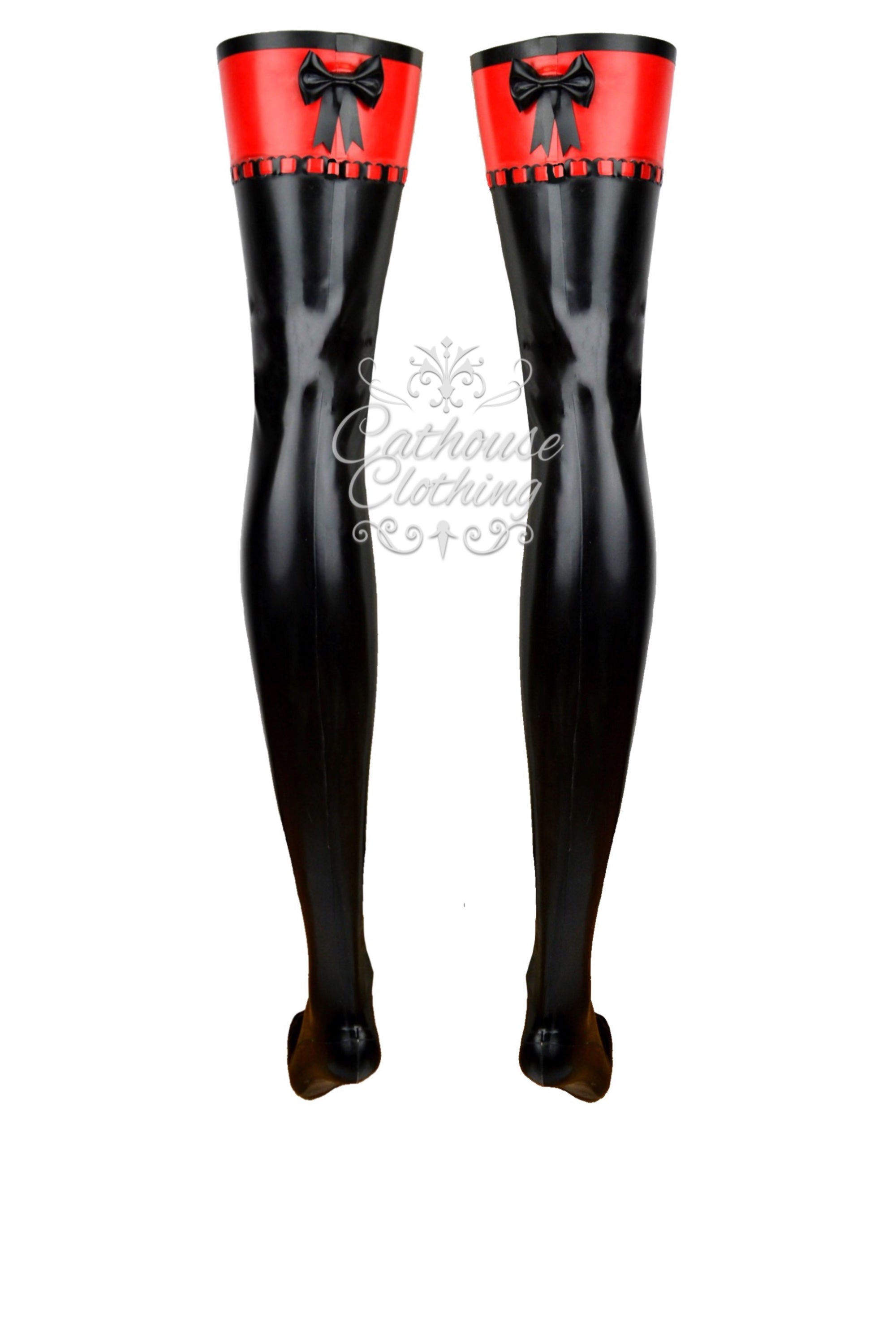 Latex Sophia stockings