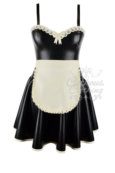 Latex Adore maids dress