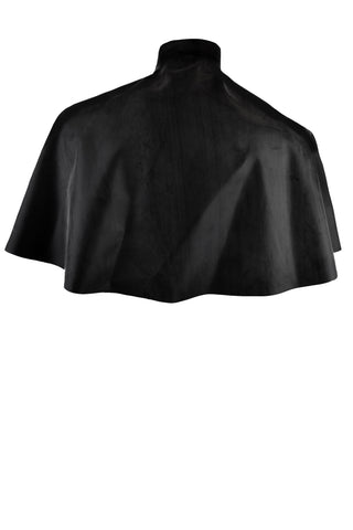 Latex short cape