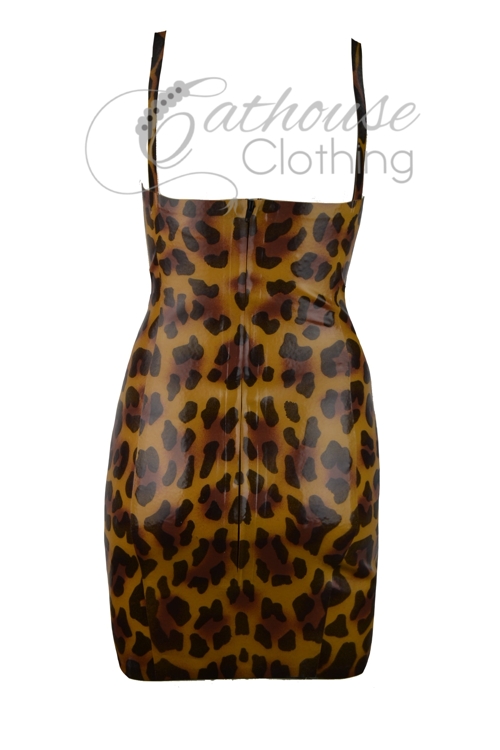 Cheetah bustier dress