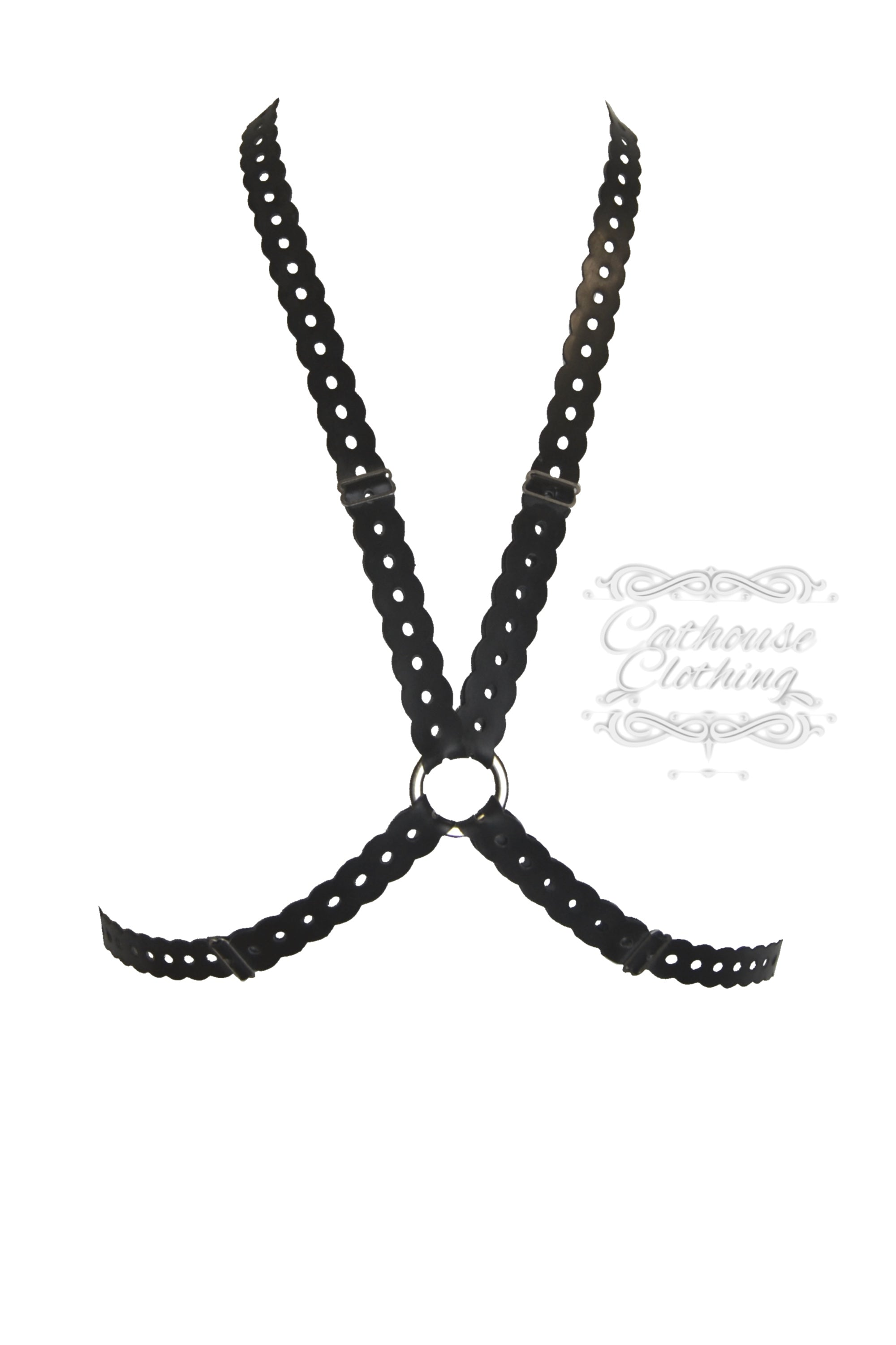 Latex Anika cross harness