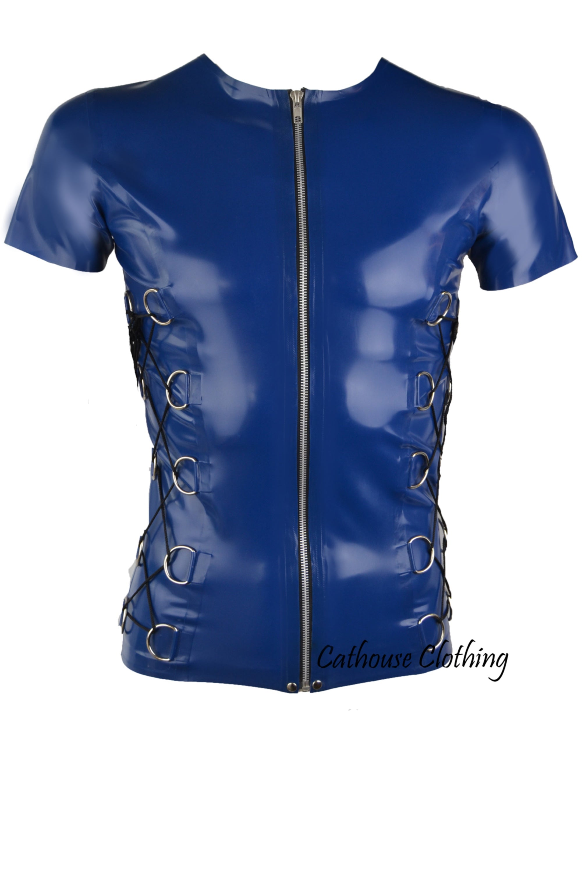 Men's Latex D-ring T-shirt