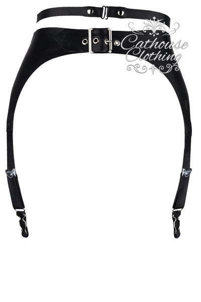 Latex Goddess suspender belt
