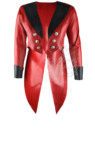 Latex Pirate tailcoat
