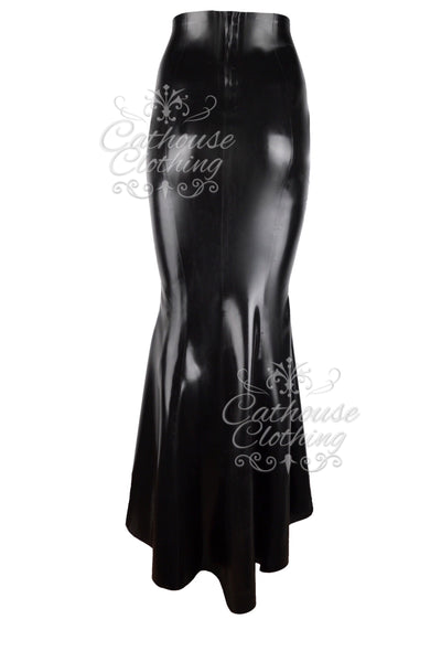 Latex Temptress skirt