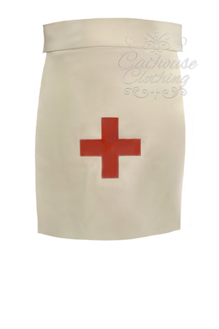 Latex nurse apron