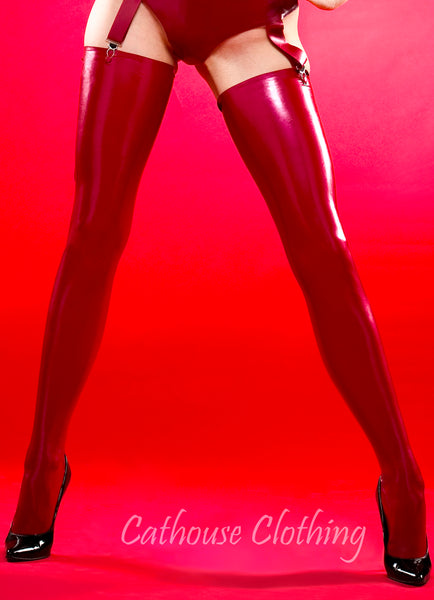 Plain latex stockings