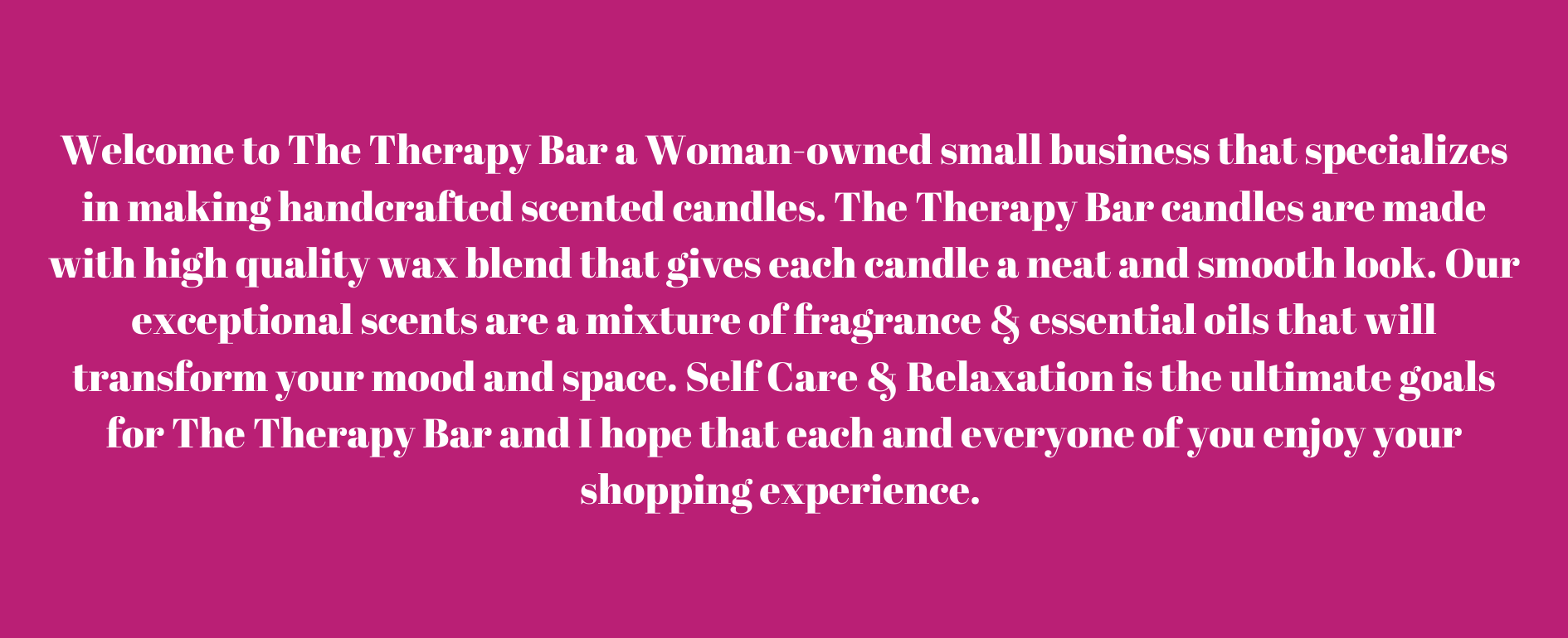 The Therapy Bar
