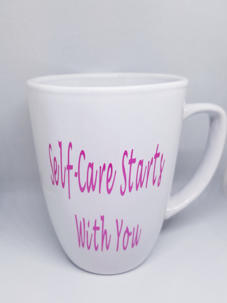 Self-care Starts With You Mugs