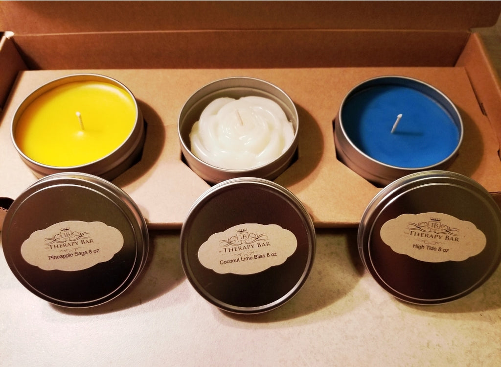 Self-care In A Box: Trio Candle Set