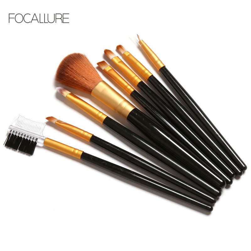 FOCALLURE Set Pinceaux 8Pcs