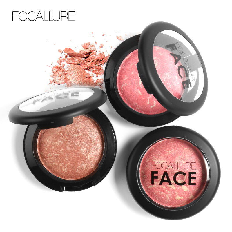 FOCALLURE Face Makeup - Blusher Visage 6 couelurs