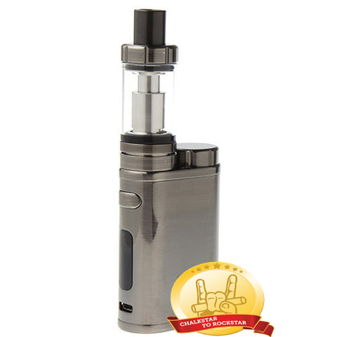 Eleaf iStick Pico 75W Kit w/ MELO III 4ml Clearomizer - Brushed Silver