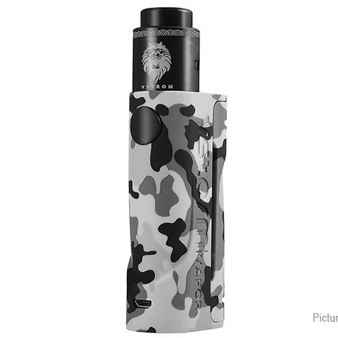 Vapor Storm ECO Mechanical Box Mod Kit - Grey