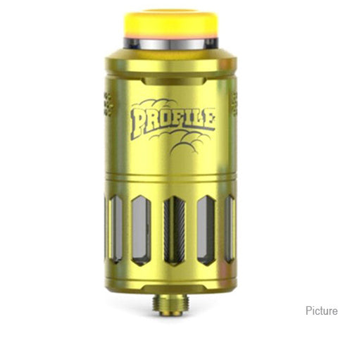 Wotofo Profile RDTA/RDA w/ BF Pin , 6.2ml, 25mm - Gold