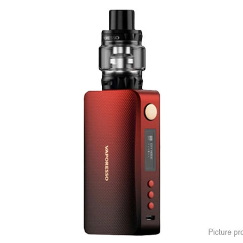 Vaporesso GEN 220W VW TC Box Mod Kit 8/5ml - Black Red