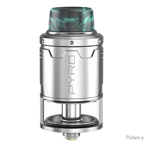 Vandy Vape Pyro V3 RDTA 2ml / 24mm w/ BF pin - Silver
