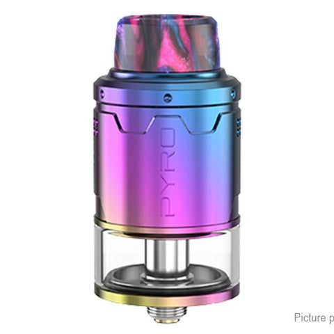Vandy Vape Pyro V3 RDTA 2ml / 24mm w/ BF pin - Rainbow