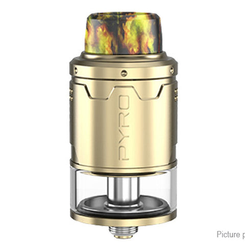 Vandy Vape Pyro V3 RDTA 2ml / 24mm w/ BF pin - Gold