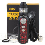 OBS Cube 80W 3000mAh VW 4ml Kit - Poppy