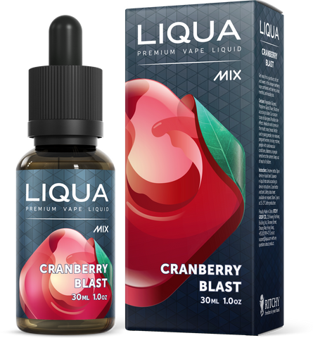 LIQUA Mix E-liquid (30ml) Cranberry Blast 6mg