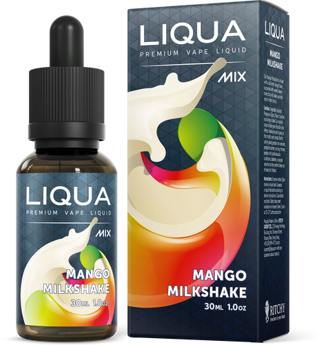 LIQUA Mix E-liquid (30ml) Mango Milkshake 6mg