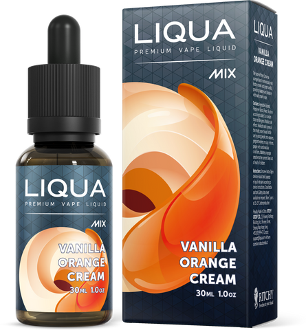 LIQUA Mix E-liquid (30ml) Vanilla Orange Cream / 6mg.