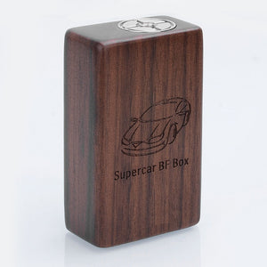 5GVape Supercar Squonk Mechanical Box Mod 8ml - Brown Walnut