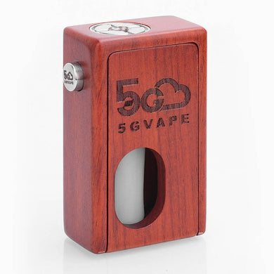 5GVape Supercar Squonk Mechanical Box Mod 8ml - Red Rosewood