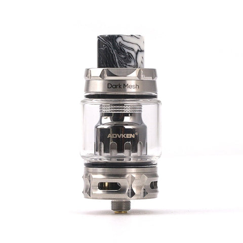 Advken Dark Mesh Sub Ohm Tank 6ml, 25mm - Silver