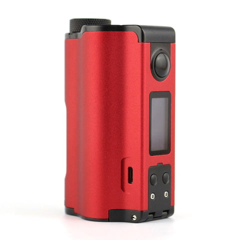 Dovpo Topside Dual 200W TC VW 10ml Squonk Mod - Red