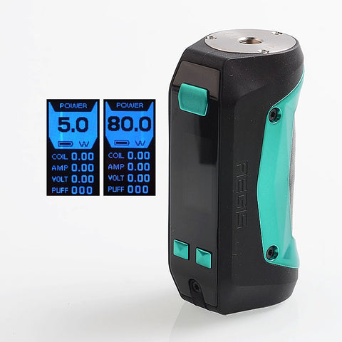 GeekVape Aegis Mini 80W 2200mAh TC VW Mod - Black Green