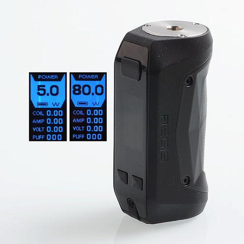 GeekVape Aegis Mini 80W 2200mAh TC VW Mod - Stealth Black