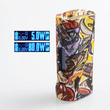 Vapor Storm ECO Pro 80W TC VW Mod - Cartoon