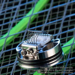 Wotofo Profile RDTA/RDA w/ BF Pin , 6.2ml, 25mm - Silver