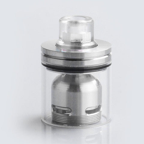 Coppervape Skyline Drop Kit w/ Drip Tip + Tank for Skyline RTA - Transparent + Silver