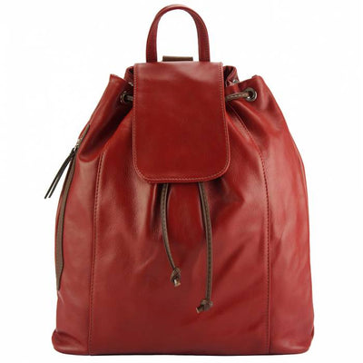 Moschata Women Leather Backpack