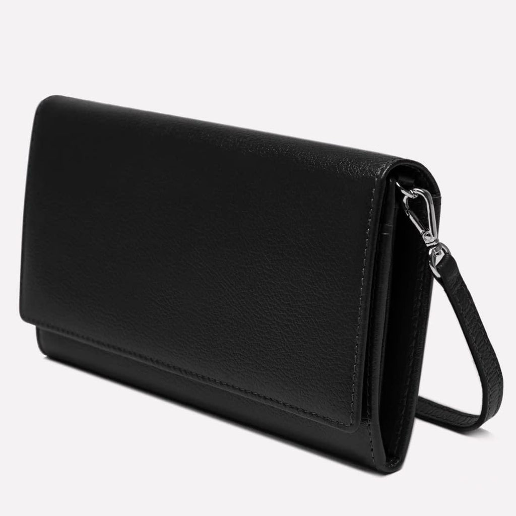 Women's Flap Over Purse Black