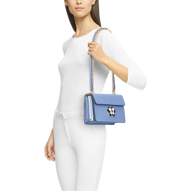 Women's Cirus Blue Lino Shoulder Bag