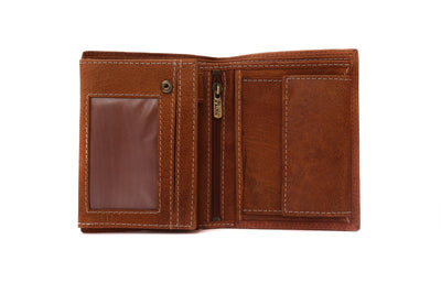 Camelide Criollo Leather Wallet Brown 2