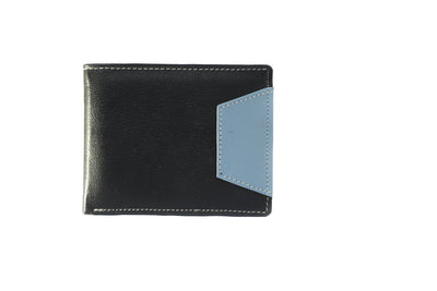Camelide Halfinger Leather Wallet Black 1